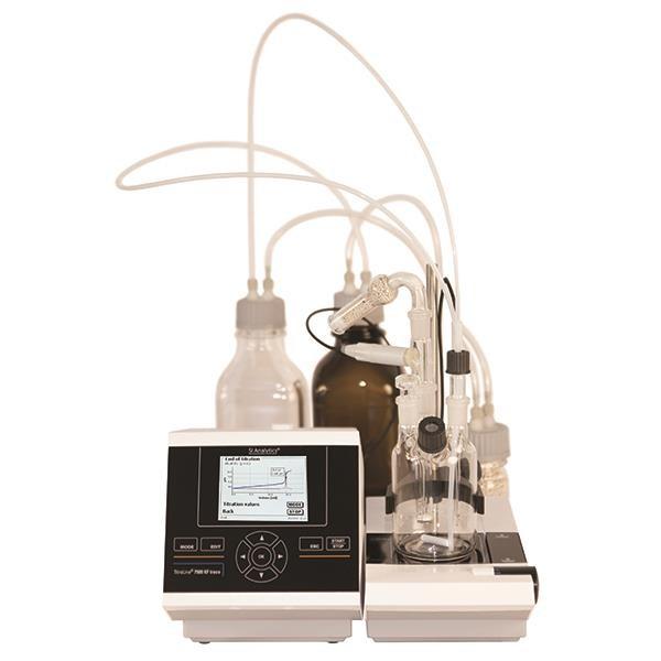 دستگاه تیتراسیون TitroLine® ۷۵۰۰ KF trace Module 2